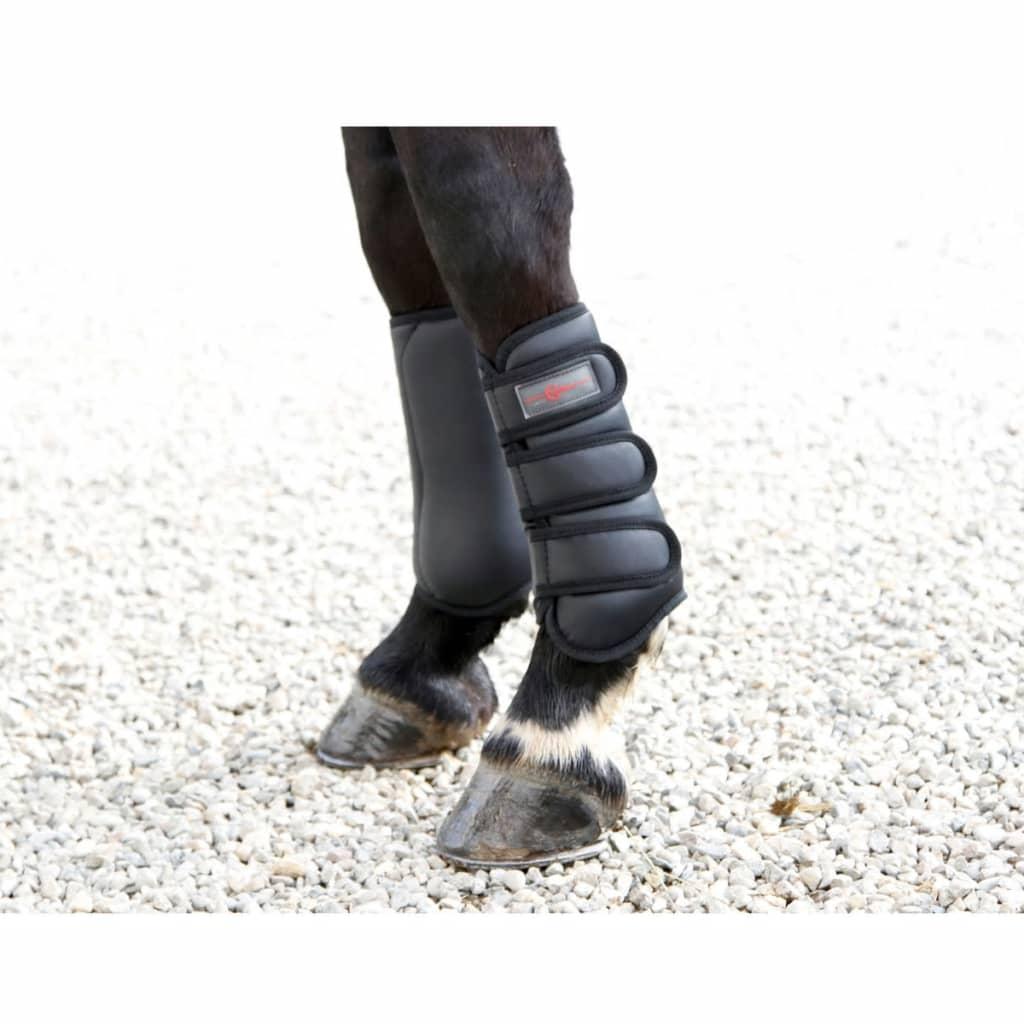 acheter kerbl bottes de cheval complet noir avant 320129 pas cher. Black Bedroom Furniture Sets. Home Design Ideas