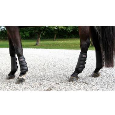 acheter kerbl bottes de cheval complet noir arri re 320130. Black Bedroom Furniture Sets. Home Design Ideas