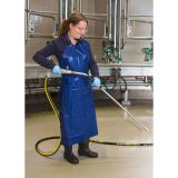 Kerbl Grembiule per Mungitura e Lavaggio Sintetico Blu 125x100cm 15151