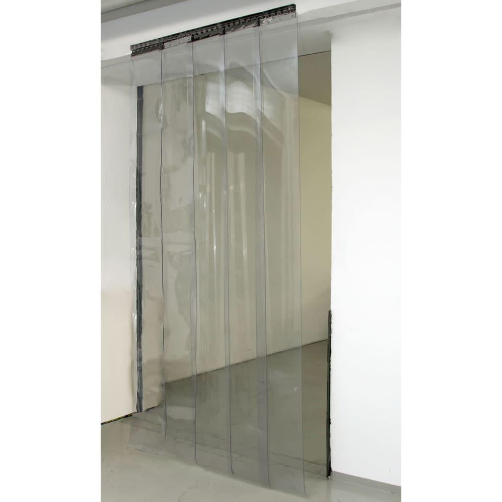 acheter kerbl ensemble de rideaux pvc 225 x 30 cm 291162 pas cher. Black Bedroom Furniture Sets. Home Design Ideas