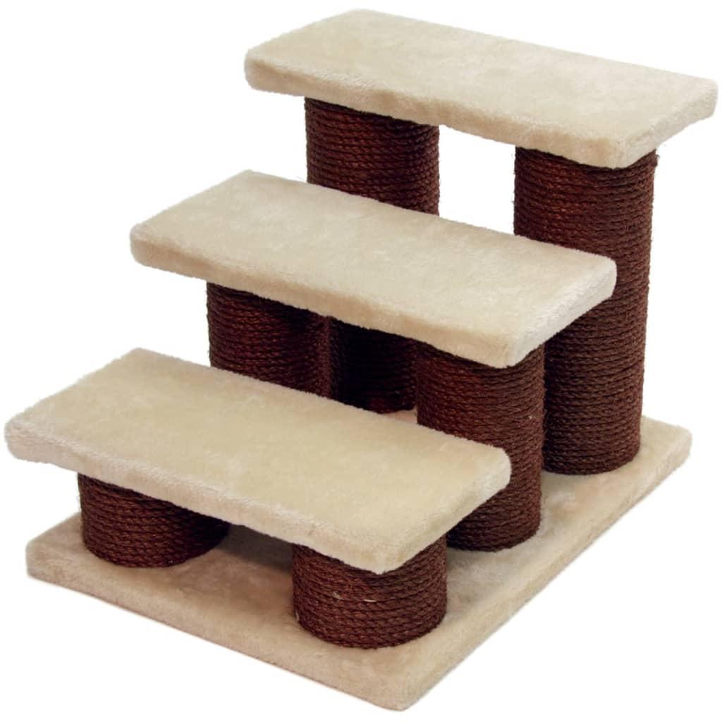 Afbeelding van Kerbl Huisdierentrap Easy Climb 45x35x34 cm bruin 82410