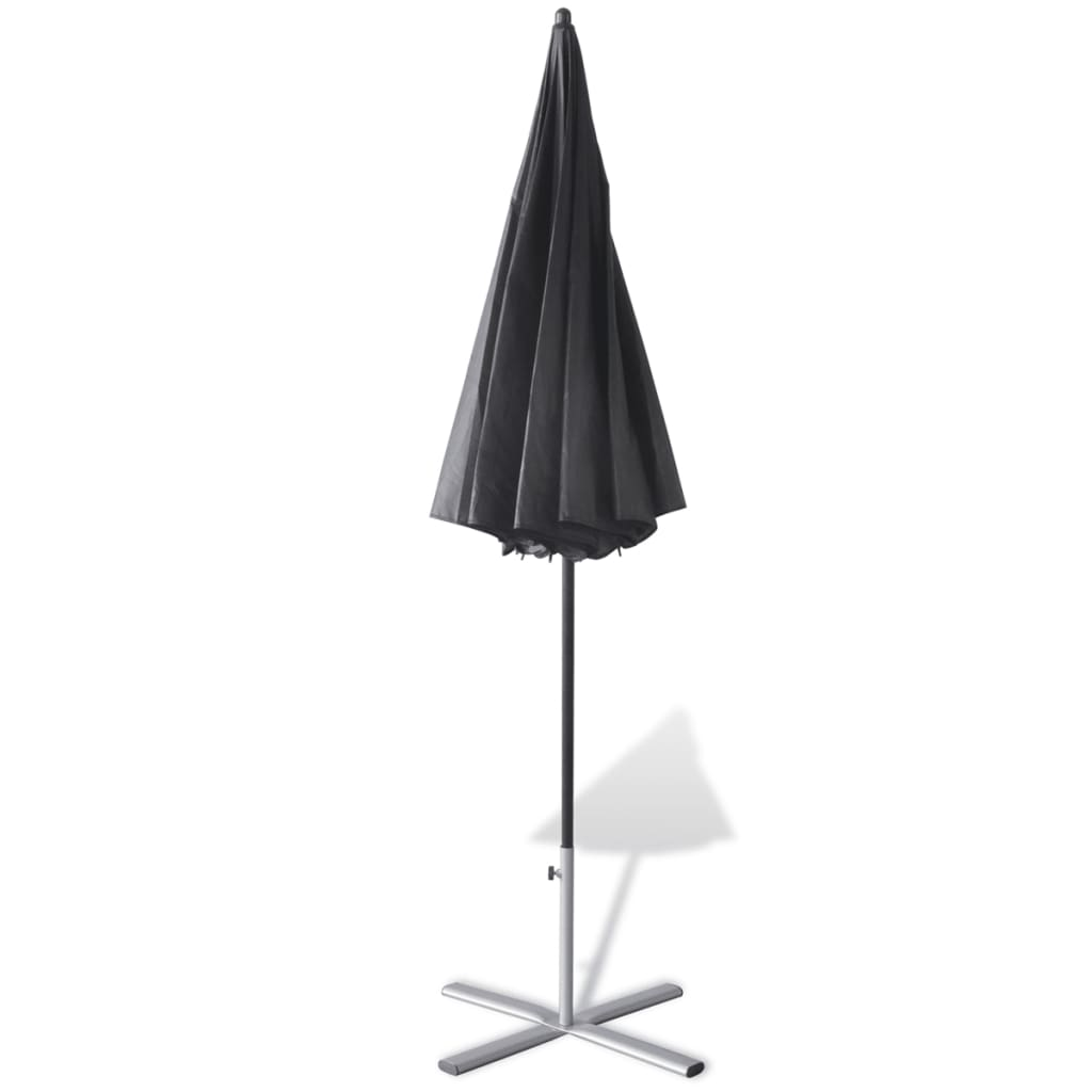 la boutique en ligne set de bains de soleil en aluminium avec parasol. Black Bedroom Furniture Sets. Home Design Ideas