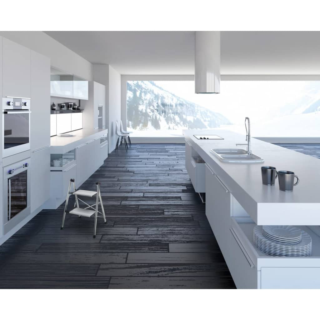 hailo 2 stufen trittleiter livingstep comfort slim 68 cm alu 4322 001 zum schn ppchenpreis. Black Bedroom Furniture Sets. Home Design Ideas