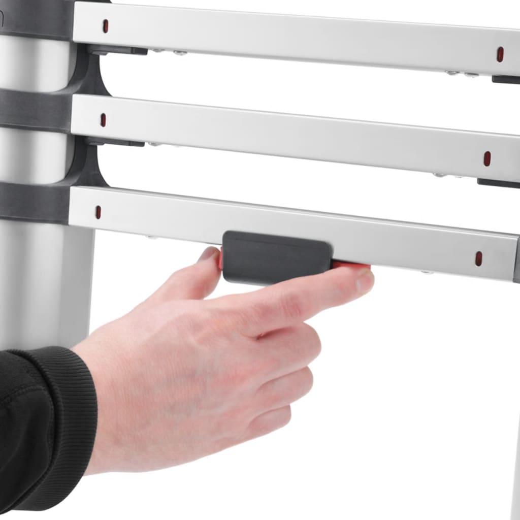 Acheter hailo chelle t lescopique flexline 260 380 cm aluminium 7113 131 pas cher - Echelle telescopique pas cher ...