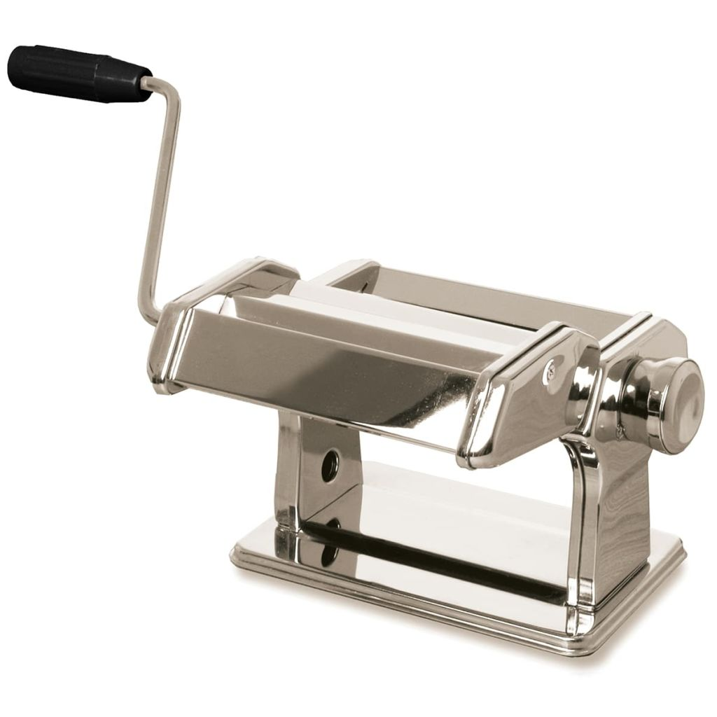gusta machine p tes manuelle acier inoxydable argent 01151850. Black Bedroom Furniture Sets. Home Design Ideas