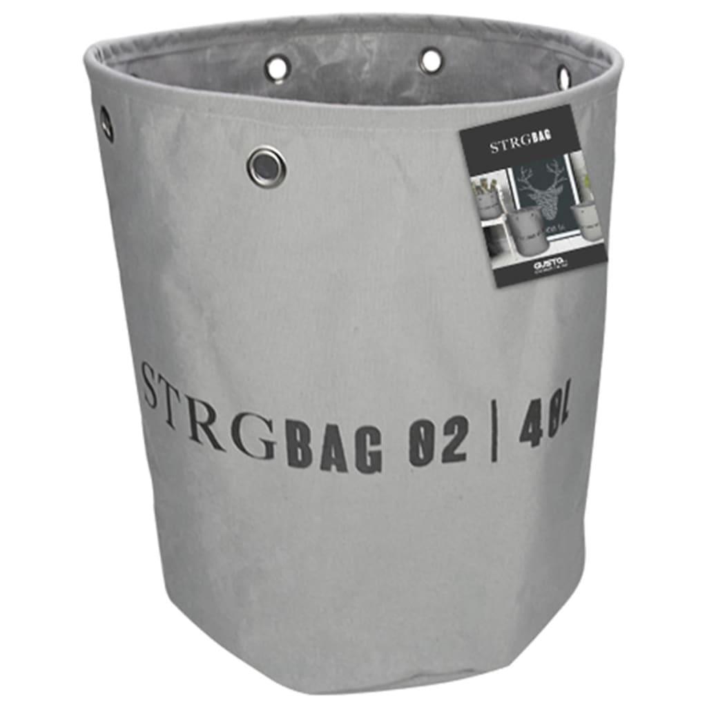 Gusta Ablagekorb 33x37 cm Dunkelgrau 04126140