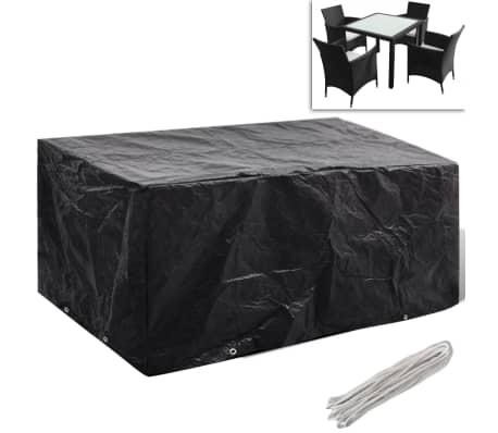 regenschutz f r gartenm bel polyrattan f r 4 personen 8. Black Bedroom Furniture Sets. Home Design Ideas