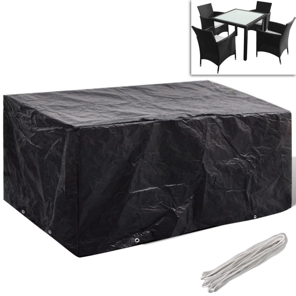 housse illets pour salon de jardin en polyrotin housse de meubles ext rieurs ebay. Black Bedroom Furniture Sets. Home Design Ideas