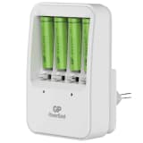 GP Battery Charger PB420 with 4 Batteries 130420GS85AAAHCC4
