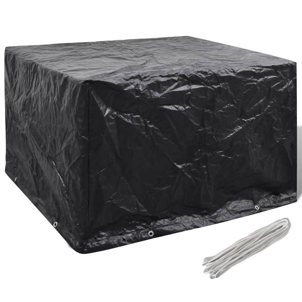 Articoli per telo di copertura per mobili da esterno con 8 occhielli 135x135x90 cm - Copertura lavatrice da esterno ...