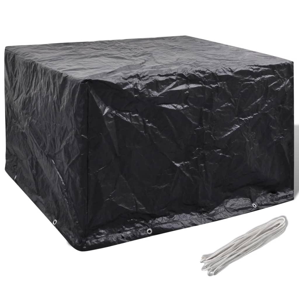pe schutzh lle f r gartenm bel abdeckplane regenschutz abdeckhaube schutzplane ebay. Black Bedroom Furniture Sets. Home Design Ideas