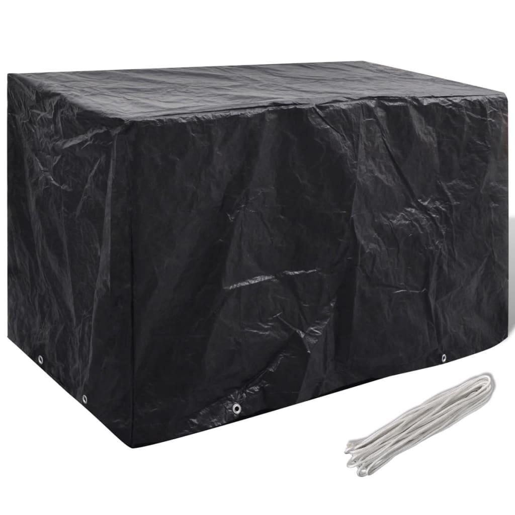 Articoli per telo di copertura per mobili da esterno con 8 occhielli 140x70x90 cm - Copertura lavatrice da esterno ...