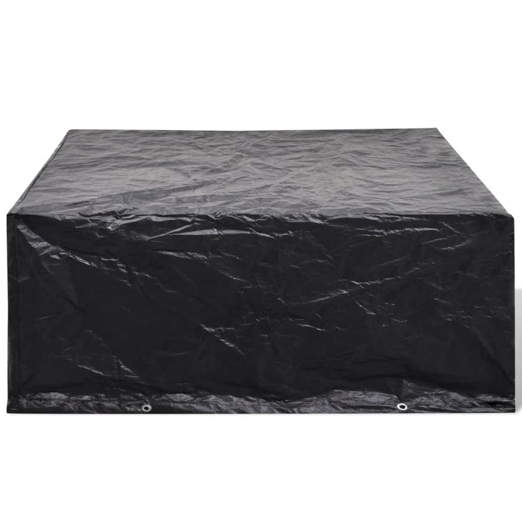 acheter housse 10 illets pour mobilier de jardin 260 x 260 x 90 cm pas cher. Black Bedroom Furniture Sets. Home Design Ideas