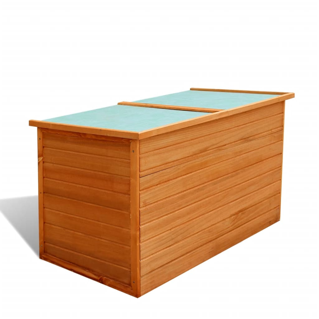 garden wooden storage box waterproof
