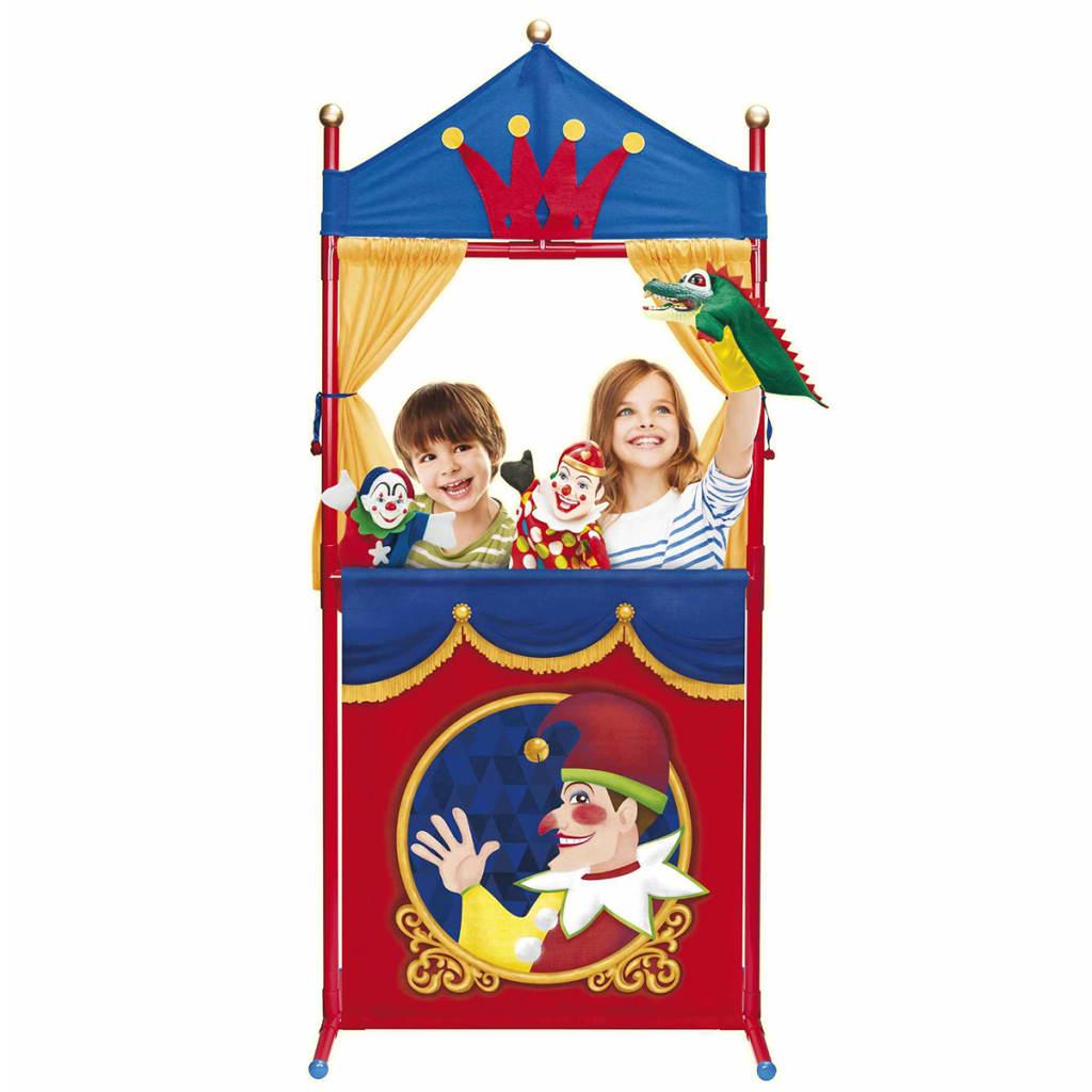 AK Sports Set Teatro dei Burattini Marionette Giocattoli Bambini 159x68 cm 7327