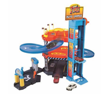 burago auto garage playset street fire 1 43 18 30361