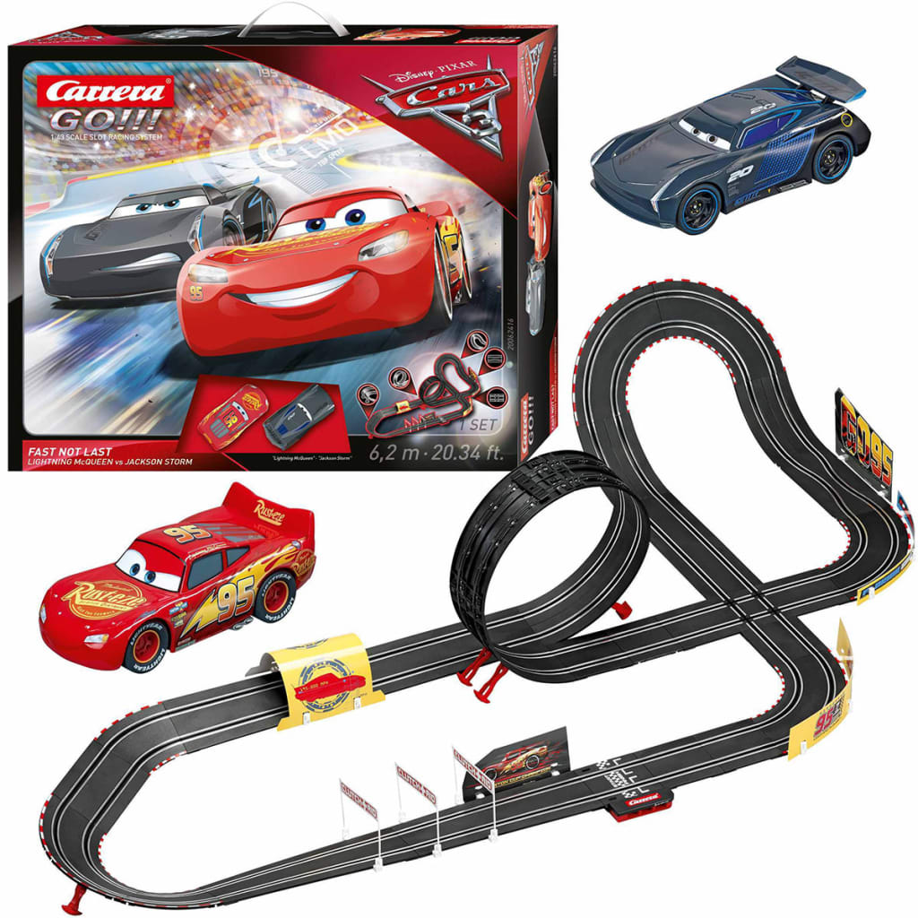 acheter carrera go jeu de voiture et piste cars 3 fast not. Black Bedroom Furniture Sets. Home Design Ideas