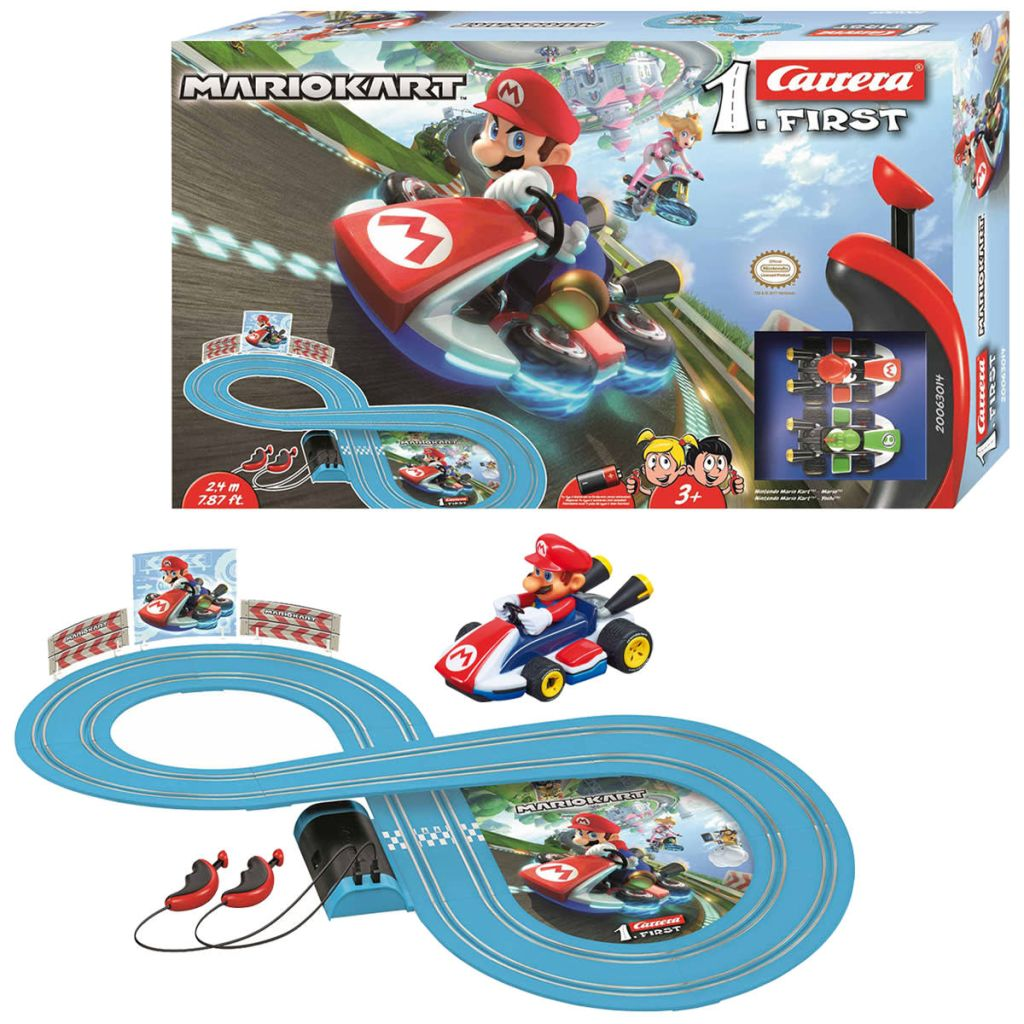 Carrera Go Slot Car Set Mario Kart Review