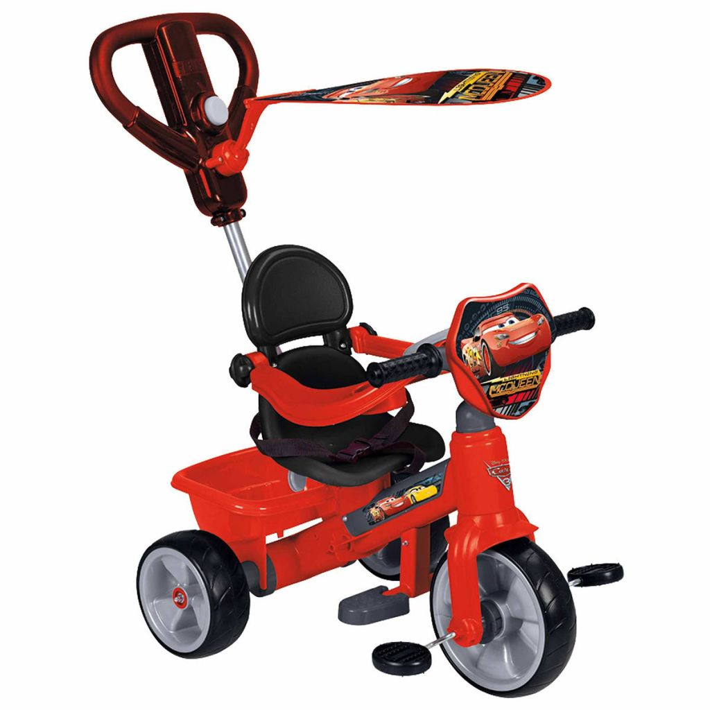 feber tricycle cars 3 red 800011143. Black Bedroom Furniture Sets. Home Design Ideas