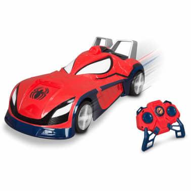 marvel voiture de course t l command e spider man rouge 77011. Black Bedroom Furniture Sets. Home Design Ideas