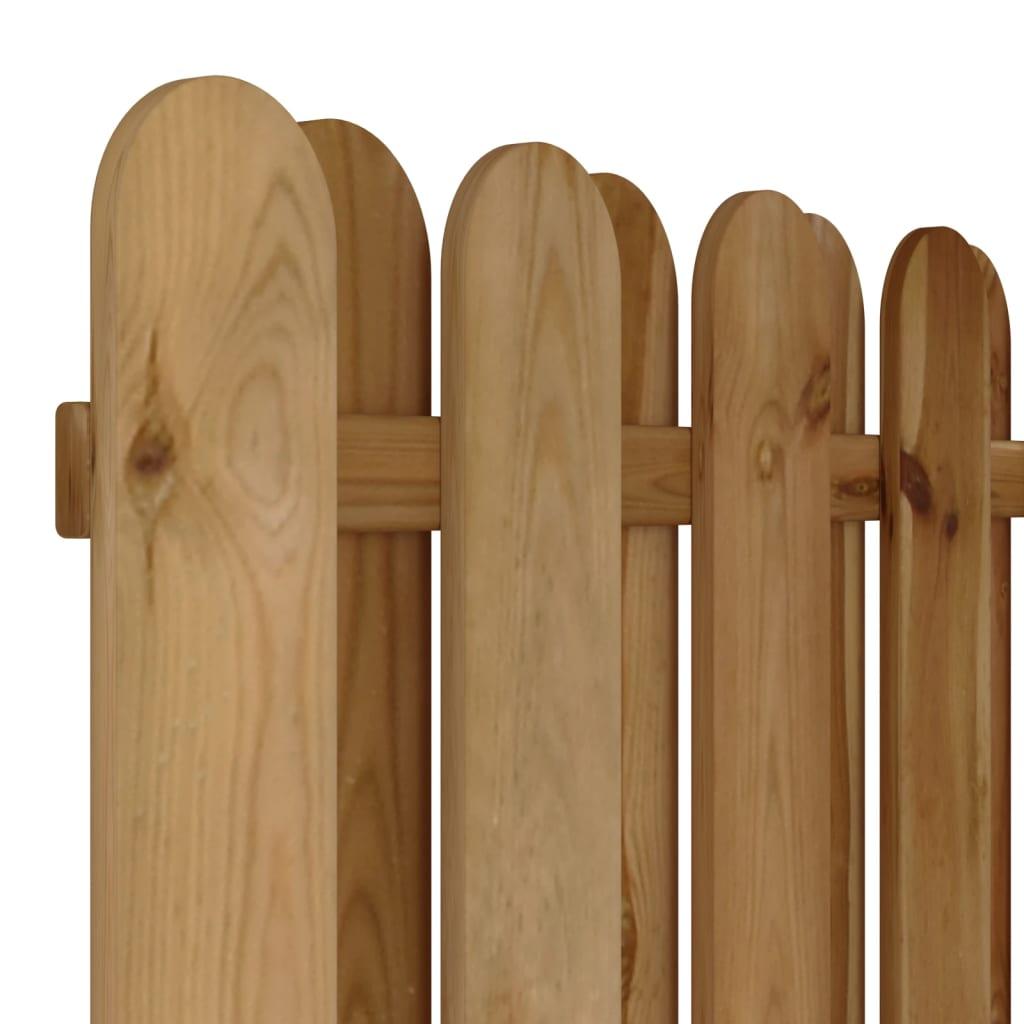 Vertical Wooden Hit Amp Miss Fence Panel Vidaxl Co Uk