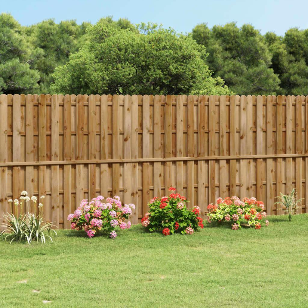 panneau de cl ture en bois avec planches intercal es. Black Bedroom Furniture Sets. Home Design Ideas