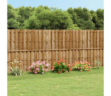 Uspravna dvostruka drvena ogradna pločna