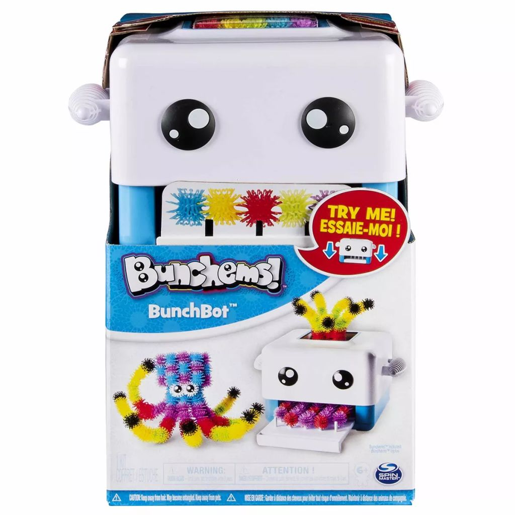Spin Master Kid S Crafts Set Bunchems Bunchbot 6036070