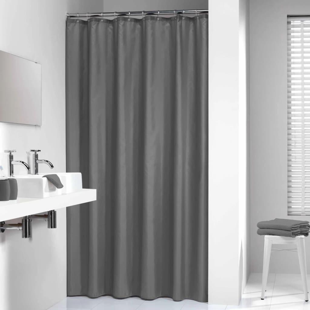 acheter sealskin rideau de douche madeira 120 cm gris 238501114 pas cher. Black Bedroom Furniture Sets. Home Design Ideas
