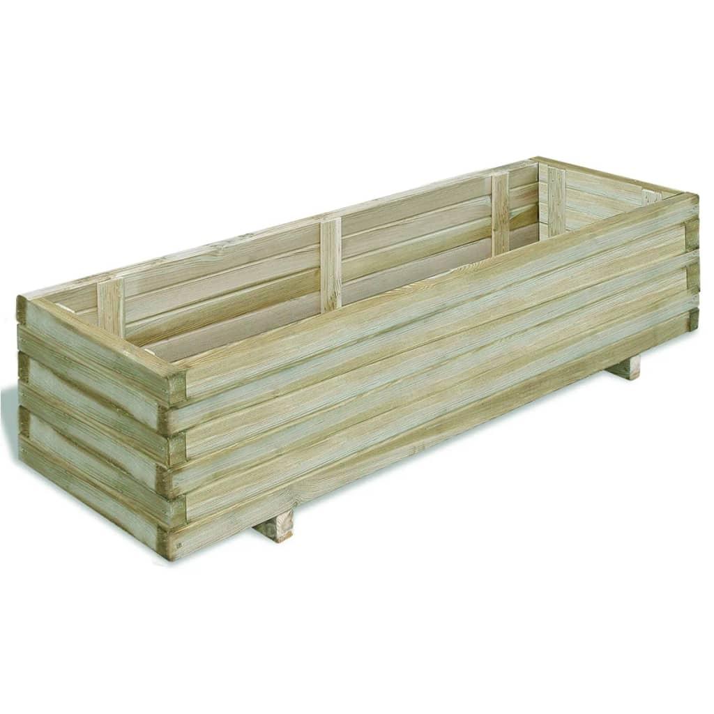 Jardini re en bois pas cher comparer les prix avec for Jardiniere hauteur 1 metre