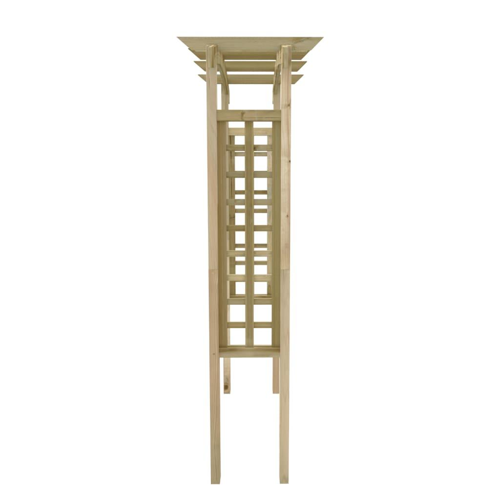 nakupte trel ov zahradn oblouk 150 x 50 x 220 cm d ev n online. Black Bedroom Furniture Sets. Home Design Ideas