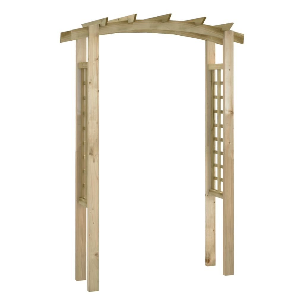 trellis arch 150 x 50 x 220 cm wood. Black Bedroom Furniture Sets. Home Design Ideas