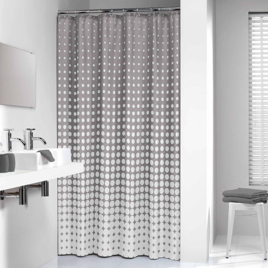 acheter sealskin rideau de douche speckles 180 cm gris 233601314 pas cher. Black Bedroom Furniture Sets. Home Design Ideas