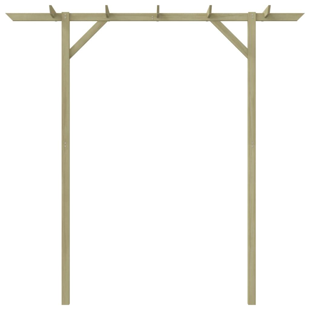 La boutique en ligne pergola de jardin en bois 200 x 40 x - Pergola de jardin en bois ...