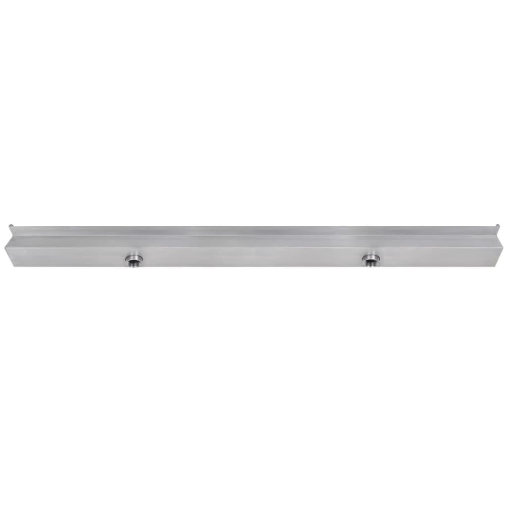 Acheter lame d 39 eau rectangulaire led 150 cm en acier for Piscine acier rectangulaire pas cher