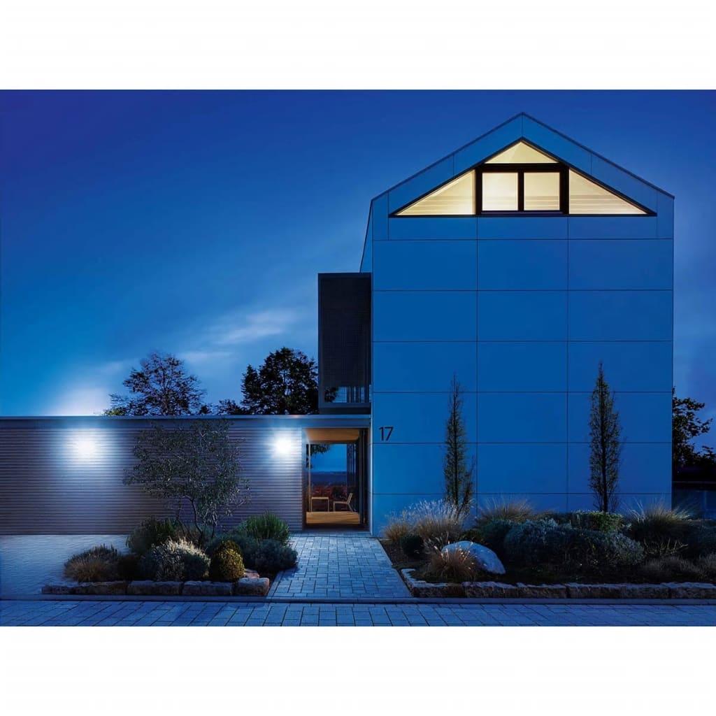 steinel sensor floodlight xled home 2 xl black 030049. Black Bedroom Furniture Sets. Home Design Ideas