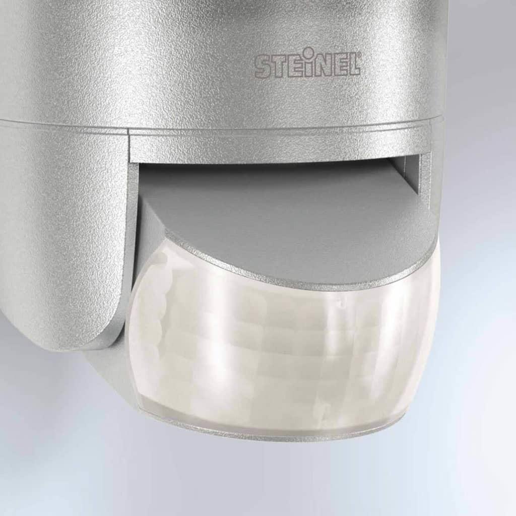 steinel sensor floodlight xled home 2 xl silver 030063. Black Bedroom Furniture Sets. Home Design Ideas