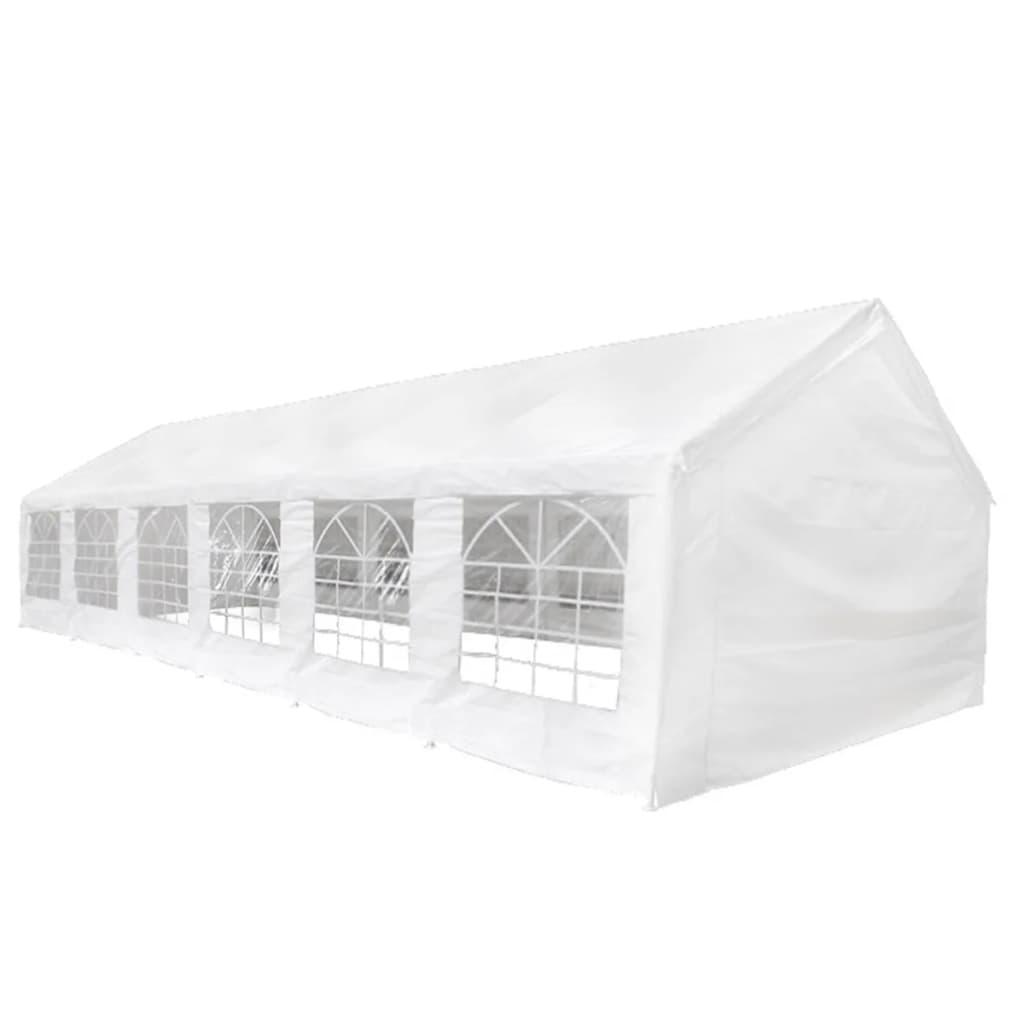 vidaXL Sátortető és oldalpanelek 12 x 6 m-es parti sátorhoz