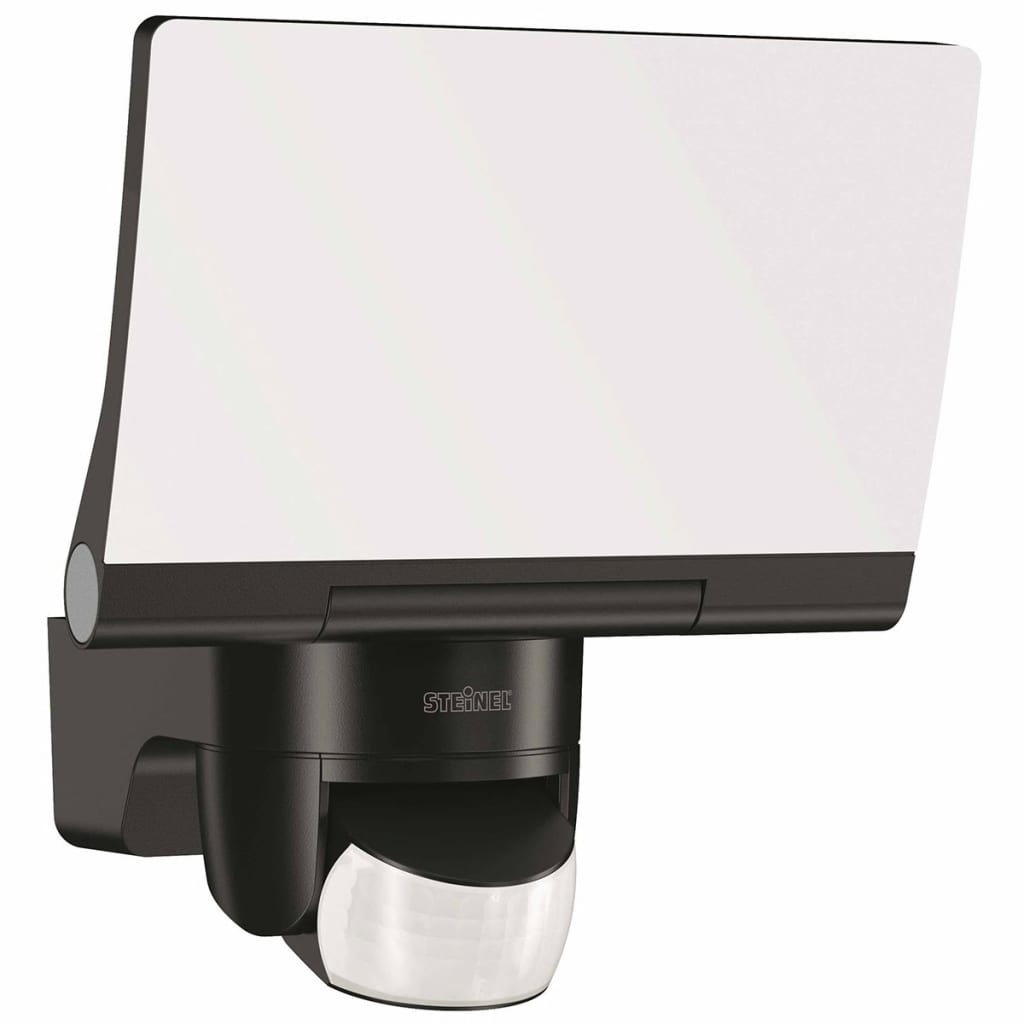 steinel sensor floodlight xled home 2 black 033071. Black Bedroom Furniture Sets. Home Design Ideas