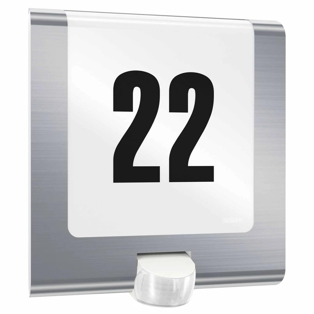 Acheter steinel luminaire d 39 ext rieur l 220 led argent for Solde luminaire exterieur