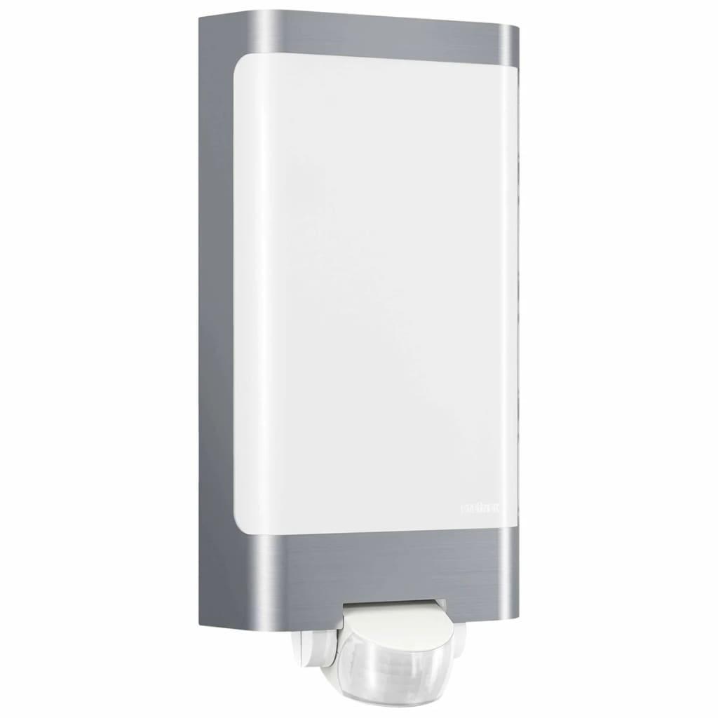 steinel outdoor light l 240 led silver 010461. Black Bedroom Furniture Sets. Home Design Ideas