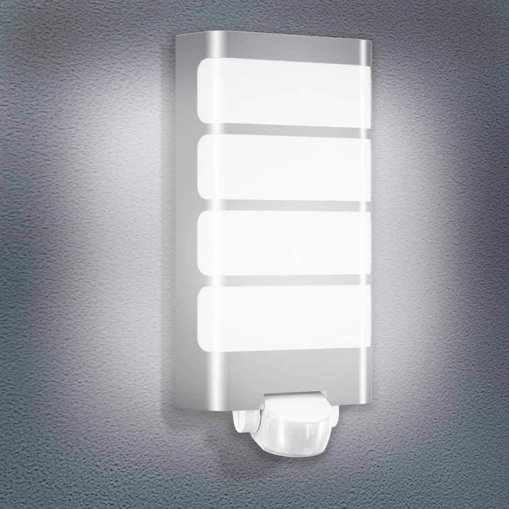 Acheter steinel luminaire d 39 ext rieur l 244 led argent for Luminaire exterieur plastique