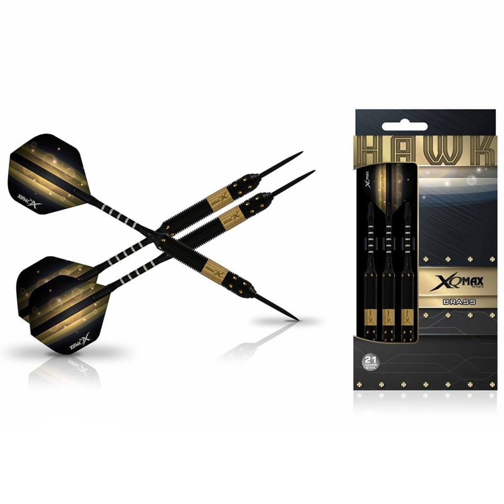 acheter xqmax darts jeu de fl chettes hawk 3 pi ces 21g. Black Bedroom Furniture Sets. Home Design Ideas