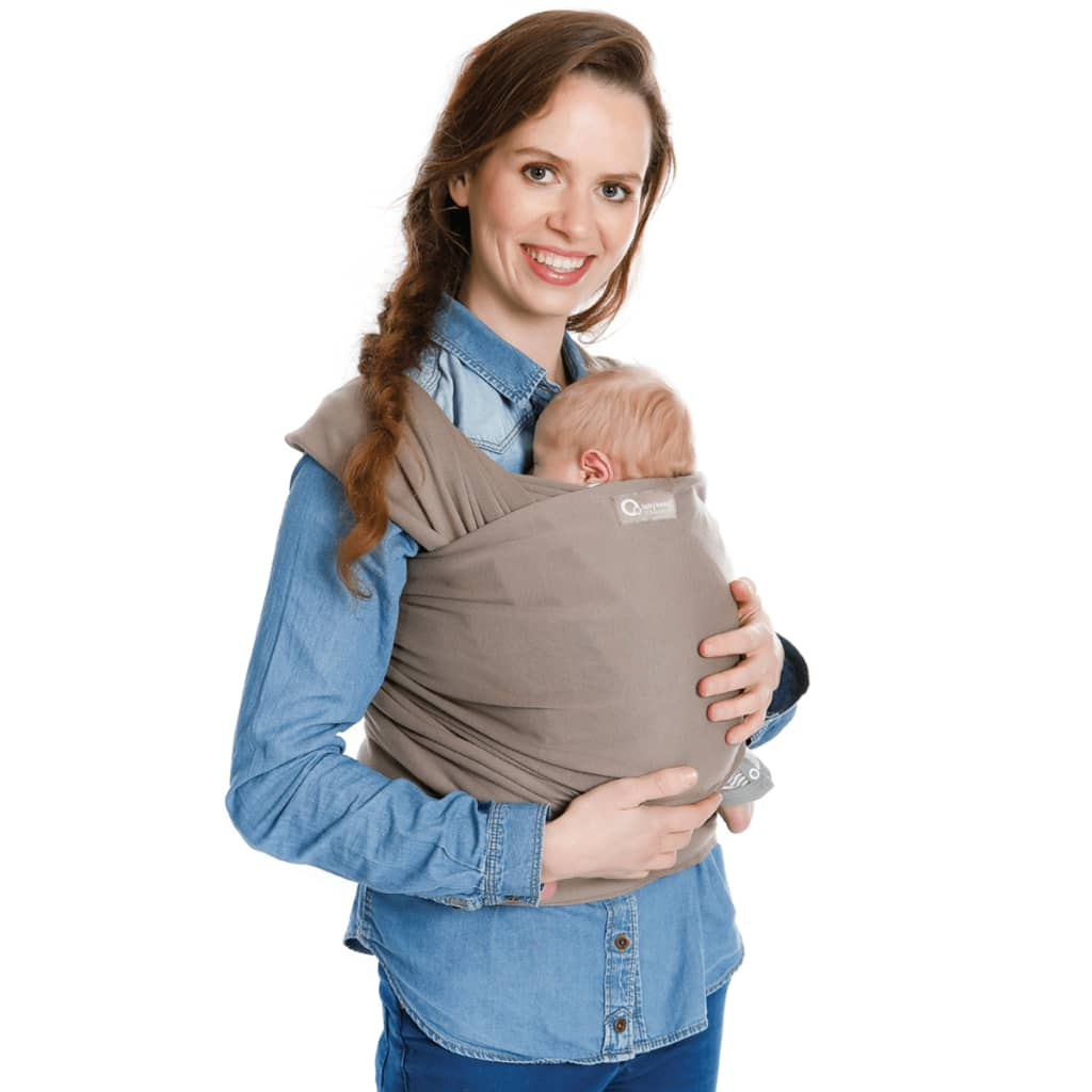 Babylonia draagdoek Tricot-Slen taupe