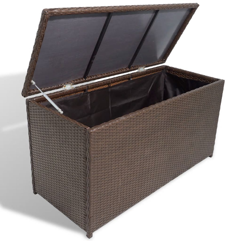 vida-xl-poly-rattan-garden-storage-chest-waterproof-brown