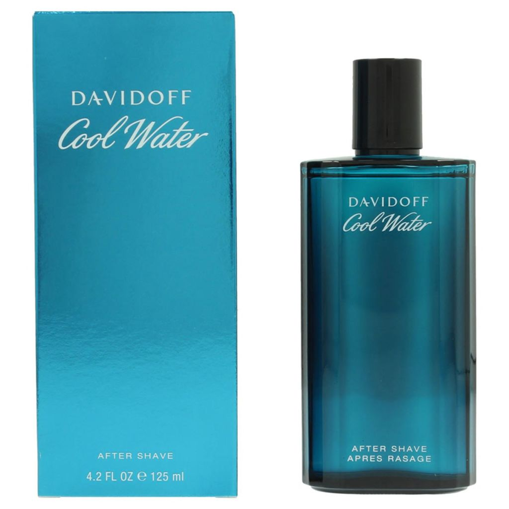 Afbeelding van Davidoff Aftershave Cool Water voor heren 125 ml