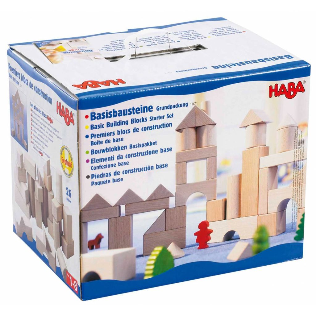 HABA Jeu Jeu Jeu de Blocs de Construction Jeu de Construction 26 pcs Grand 001071 0c2781