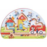 HABA Magnetic Dexterity Game Mice Fire Brigade 301475
