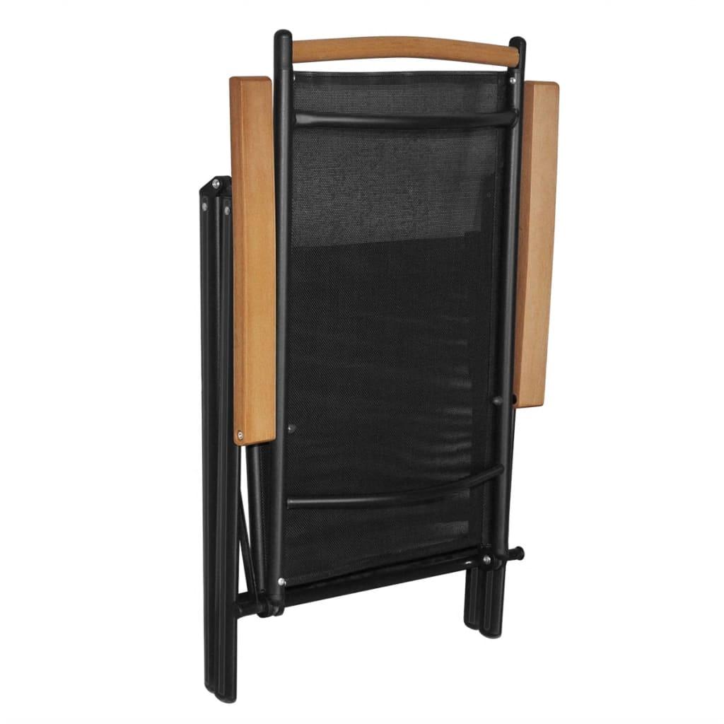 Vidaxl sillas plegables de jard n 4 piezas aluminio for Sillas de jardin de aluminio