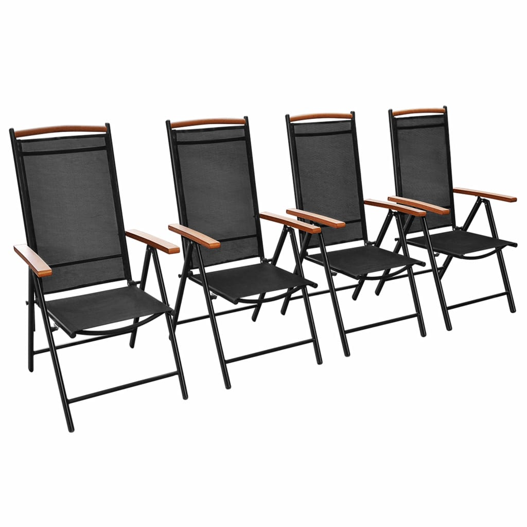 la boutique en ligne vidaxl chaises pliables de jardin. Black Bedroom Furniture Sets. Home Design Ideas